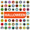 Stock Image : Halloween icon set