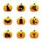 Stock Image : Halloween-Lantaarnpictogrammen