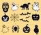 Stock Image : Halloween, life beyond, afterlife and Dia de muertos