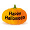 Stock Image : Halloween pumpkin  on white background,