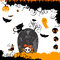 Stock Image : Halloween themed design