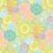 Stock Image : Hand drawn seamless floral pattern