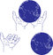 Stock Image : Hand and Globe