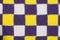 Stock Image : Handmade knitted fabric cloth sample