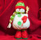 Stock Image : Handmade Snowman