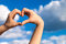 Stock Image : Hands Love