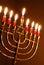 Stock Image : Hanukkah Candles