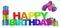 Stock Image : Happy Birthday