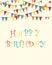 Stock Image : Happy birthday vector. EPS10 format vector