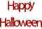 Stock Image : Happy Halloween sign