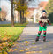 Stock Image : Happy little boy in sunny day on rolle
