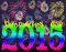 Stock Image : Happy new year 2015