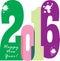 Happy new year 2016 brochure banner