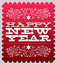 Stock Image : Happy new year - card - poster template
