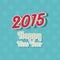 Stock Image : Happy New Year typography background