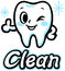 Stock Image : Happy smiling tooth (Clean)