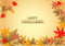 Stock Image : Happy Thanksgiving background