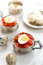 Stock Image : Hard boiled quail eggs