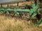 Stock Image : Harvesting wheat