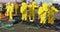 Stock Image : HAZMAT Team Clean Up 2