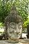 Stock Image : HEAD OF ANCIENT BUDDHA