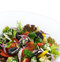 Stock Image : Healthy vegetarian greek salad with tomatoes