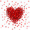 Stock Image : Heart from hearts - design