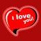 Stock Image : Heart. I love you.