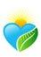 Stock Image : Heart logo