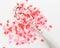 Stock Image : Heart Sprinkles