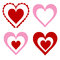 Stock Image : Hearts