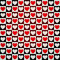 Stock Image : Hearts seamless pattern