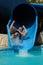 Stock Image : Heb pret op aquapark