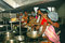 Stock Image : Het hygiënische Koken