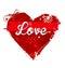 Stock Image :  Het symbool van het hart