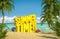 Stock Image : Het tropische strand van de de zomertijd