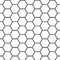 Stock Image : Hexagonal grid