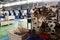 Stock Image : High Precision Automotive CNC machines Factory flo