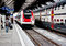 Stock Image : High speed train at Zurich HB train station 2