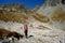 Stock Image : Hiking in Tatra Mountains