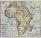 Stock Image : Historical map of Africa