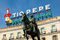 Stock Image : Historical Tio Pepe Sign in La Puerta del Sol square in Madrid