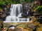 Stock Image :  Hoger Laurel Creek Falls