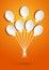 Stock Image : Holiday balloons