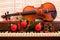 Stock Image : Holiday Violin and Piano
