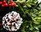 Stock Image : Holiday wreath