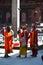 Stock Image : Holy sadhu men in Kathmandu, Nepal