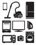 Home appliances and electronics