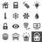 Stock Image : Home Automation Control Systems Icons