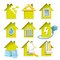 Stock Image : Home Construction Icons